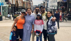 Anushka-Virat chill with Shikar Dhawan and fam in England- view pic