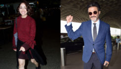 In Pics: Anil Kapoor, Yami Gautam are all smiles at Mumbai airport