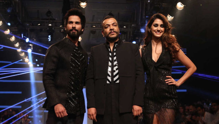 Lakme Fashion Week: Disha Patani and Shahid Kapoor rock the ramp in black!