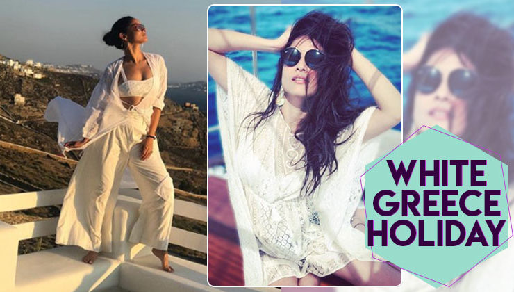 VACATION MODE ON: Ankita Lokhande goes white in Greece!