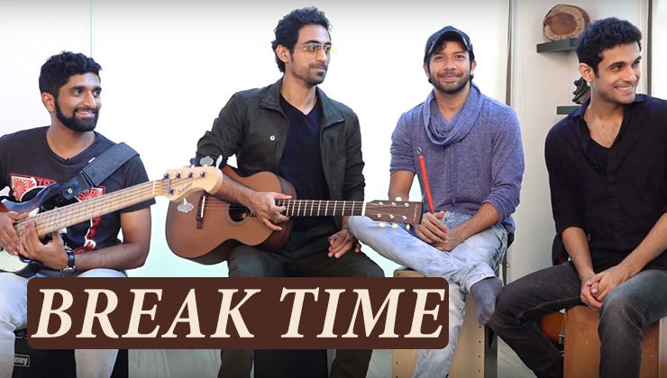 BREAK TIME: Sanam has a song for every situation