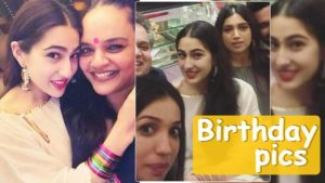 Inside Pictures: Sara Ali Khan's birthday was all about selfies with friends
