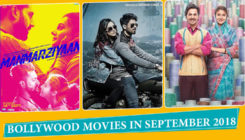 Complete list of Bollywood movies releasing in September 2018