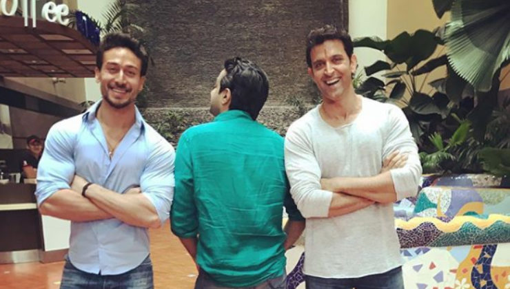 Hrithik Roshan and Tiger Shroff begin shooting for their dance film