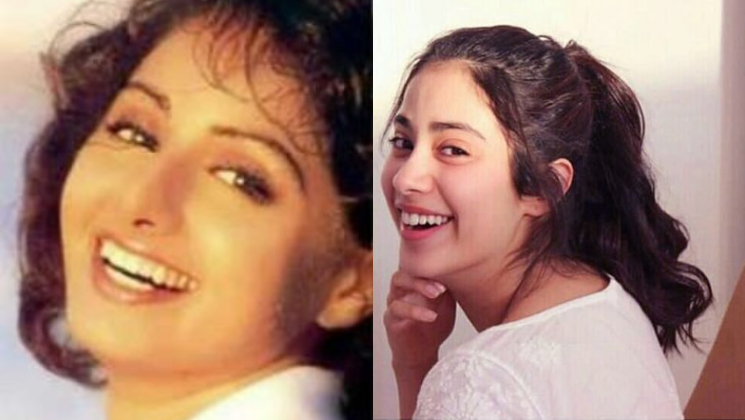 Janhvi Kapoor and Sridevi