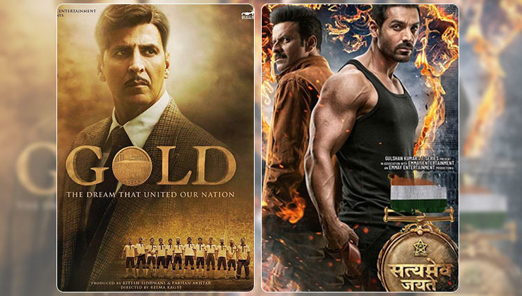 Box office occupancy report: 'Gold' and 'Satyameva Jayate' are amongst the top five opening films of 2018