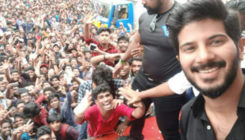 Post 'Karwaan' release, Dulquer Salmaan gets a grand welcome by fans