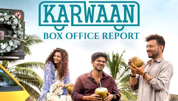 'Karwaan' inches closer to 10 crore mark at the box office