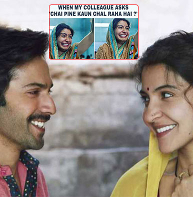 These memes on Anushka and Varun's 'Sui Dhaaga' trailer will make you go ROLF