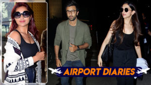 Celebs spotted airport