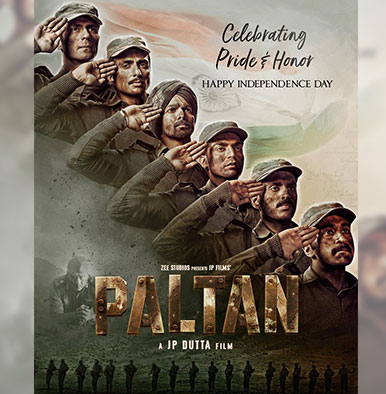 This Independence Day, celebrate pride and honour with JP Dutta's 'Paltan's new poster