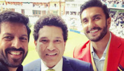 '83': Ranveer Singh seeks 'cricket ka gyaan' from God of cricket Sachin Tendulkar