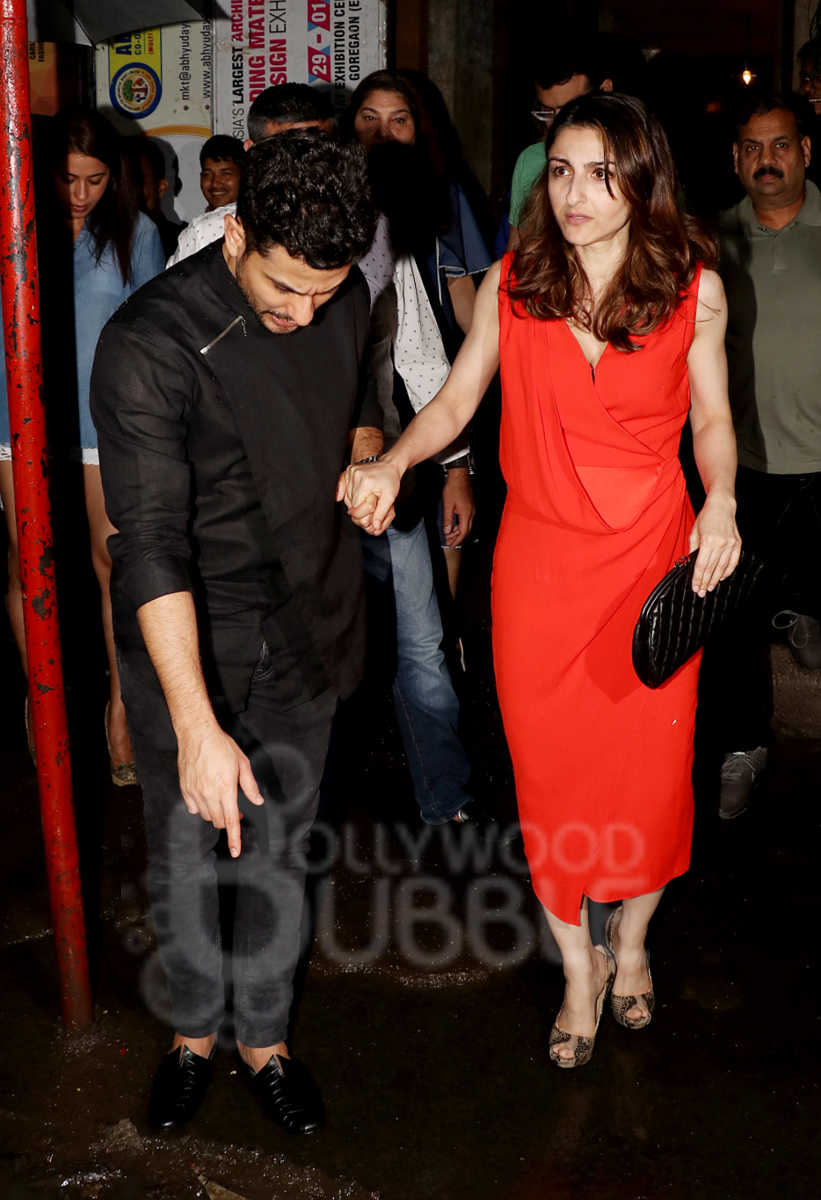 Kunal Kemmu with Soha Ali Khan