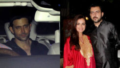 In Pics: From Hrithik Roshan to Dia Mirza, celebs attend Sanjay Khan's Eid party