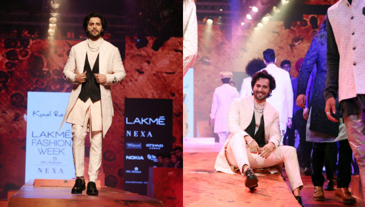 LFW 2018: Varun Dhawan rules the runway with his swag!