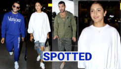 Ranveer Singh, Anushka Sharma, John Abraham and others at the airport