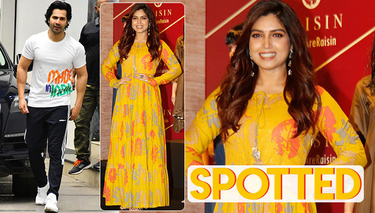 Varun Dhawan, Bhumi Pednekar and others step out in style- view pics