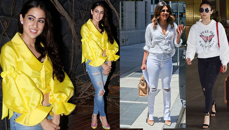Ripped jeans is the flavour of the season and this is how you can style it!