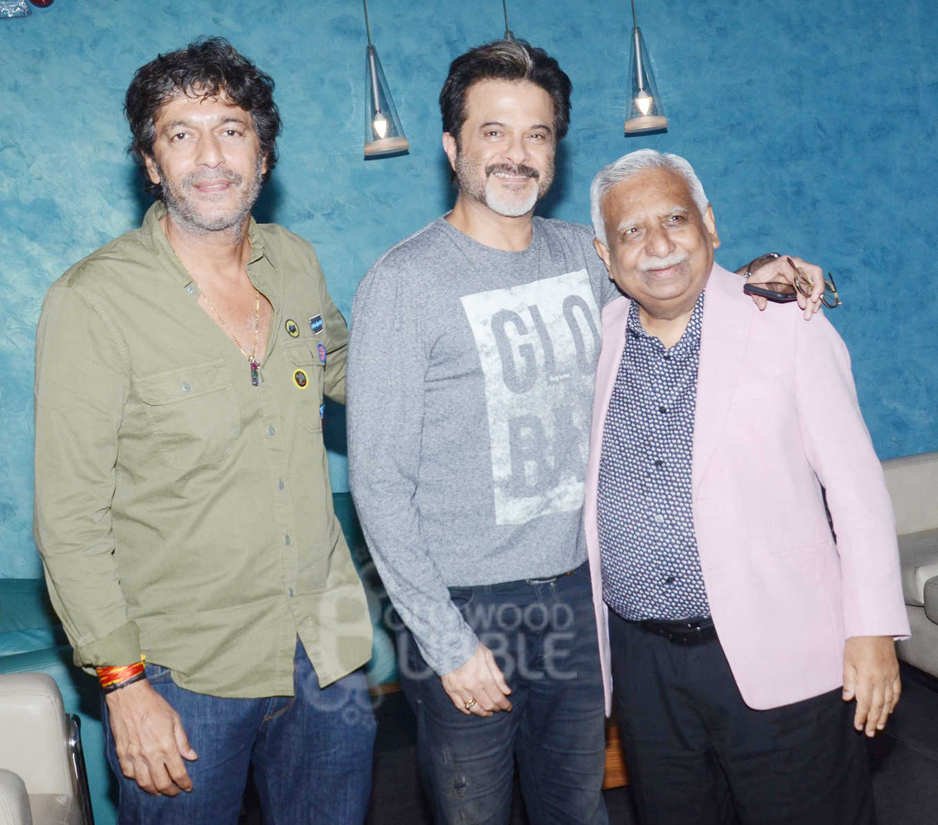 Anil Kapoor and Chunky Pandey