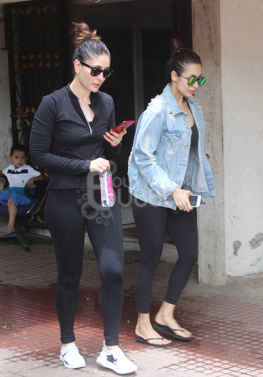 Kareena Kapor Khan and Malaika Arora