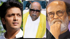 karunanidhi death bollywood response