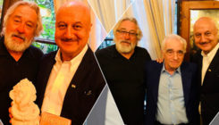 Anupam Kher attends Robert De Niro's birthday bash, meets Martin Scorsese!