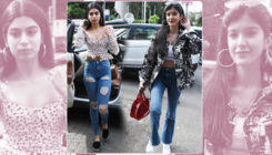 Cousins Khushi Kapoor and Shanaya Kapoor spotted chilling together