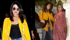Spotted: Priyanka Chopra heads to the airport after meeting Sonali Bendre's sister-in-law