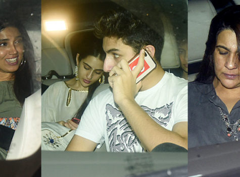 In Pics: Sara Ali Khan celebrates birthday with family and friends