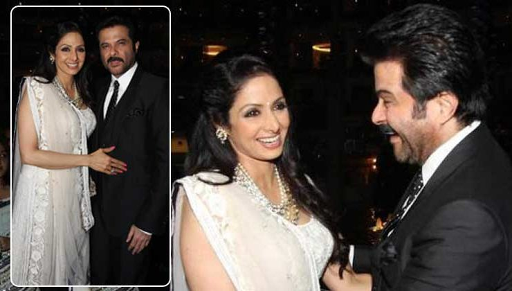 Watch the video of Sridevi's last dance with Anil Kapoor