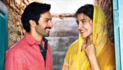 Varun and Anushka's 'Sui Dhaaga' logo made in 15 different art forms