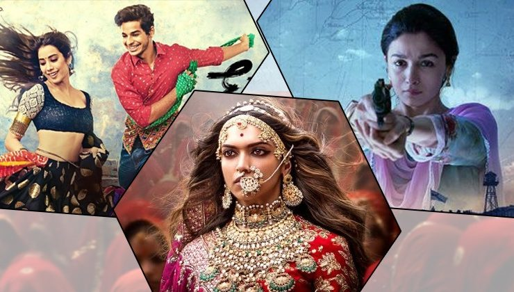 2018 First Half Report: From 'Padmaavat' to 'Dhadak', best Bollywood movies so far