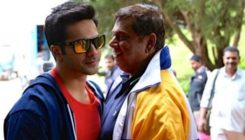 Varun Dhawan stitches a special gift for his dad David Dhawan