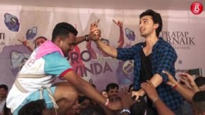 Watch 'Loveratri' actor Aayush Sharma celebrate Dahi Handi