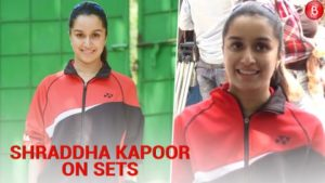 Spotted: Shraddha Kapoor begins shooting for Saina Nehwal's biopic