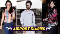 Photos: Shahid Kapoor, Shraddha Kapoor and Janhvi Kapoor spotted at the airport