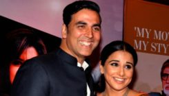 Vidya Balan and Akshay Kumar to star in the first ever Indian space film?