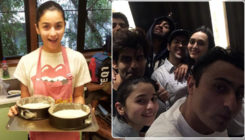 Inside pics: Alia bakes a cake for birthday boy Ranbir, and friends have a blast at the bash