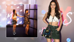 Watch: A shy Anshula Kapoor refused to pose with Ananya Panday