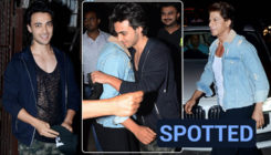 In pics: Shah Rukh Khan greets Aayush Sharma with a warm hug