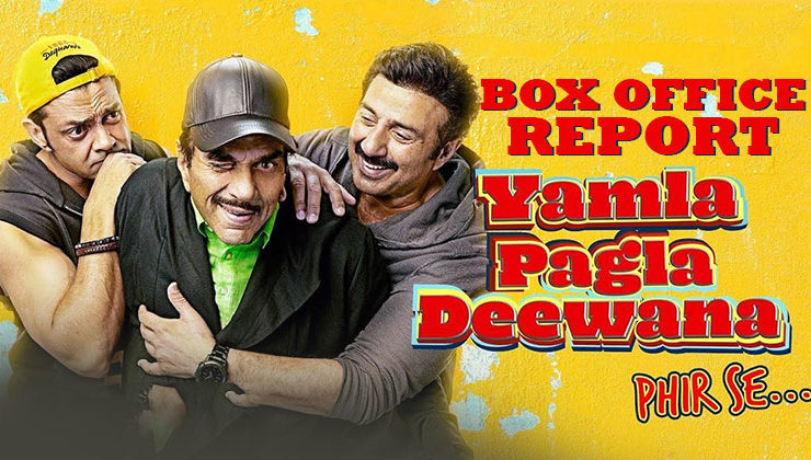 'Yamla Pagla Deewana Phir Se' has a poor day 1 at the box office