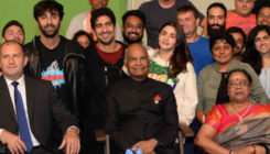 Alia and Ranbir meet President Ram Nath Kovind on the sets of 'Brahmastra'