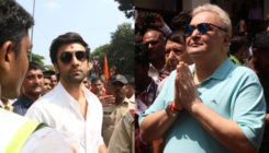 RK Studio's Ganesh Visarjan 2018: Ranbir Kapoor, Rishi Kapoor follow the tradition for one last time