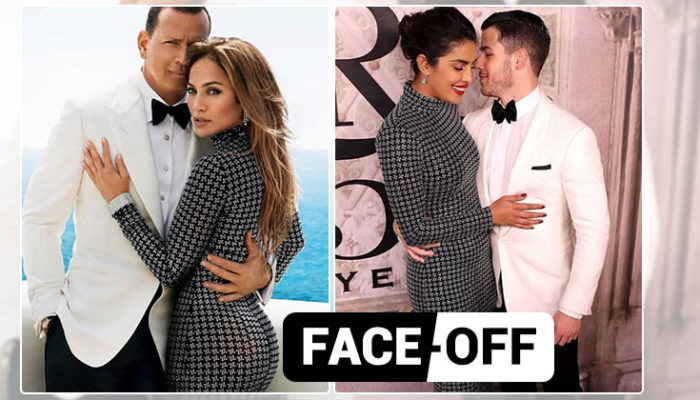 Priyanka Chopra-Nick Jonas or Jennifer Lopez-Alex Rodriguez? Who wore it better