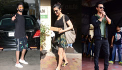 Pic: Shahid Kapoor, Aayush Sharma and other celebs' day out in the city