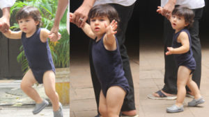Saifeena's lil boy Taimur will brighten up your weekends, view pics