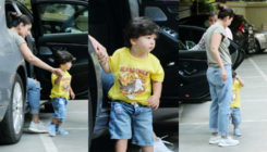Cuteness Alert: Taimur Ali Khan looked adorable in yellow at his latest outing