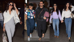 Pics: Aamir Khan, Janhvi Kapoor and others are back in town after attending the glittery bash of Ambani's in Italy