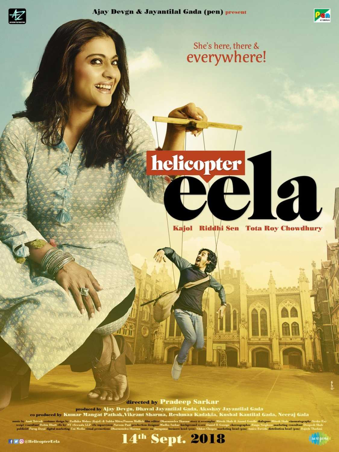 12th October- Helicopter Eela