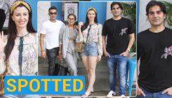 Arbaaz Khan and Giorgia Andriani go on a double date with Amrita Arora and Shakeel Ladak